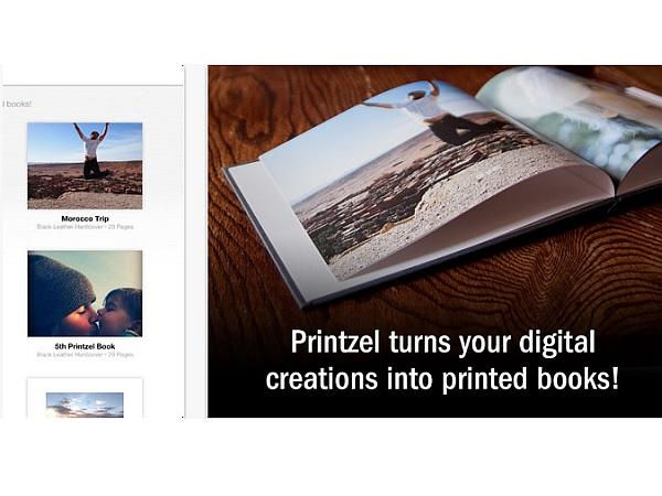 デジタル画像をフォトブックにまとめて製本してくれるサービス「Printzel」、米とカナダで展開