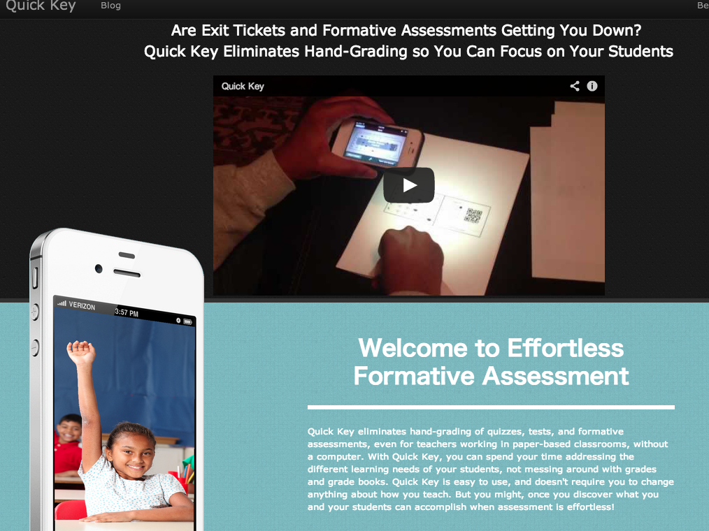 教師の業務を効率化 マークシートの採点がスマホで簡単にできるアプリ「Quick Key」