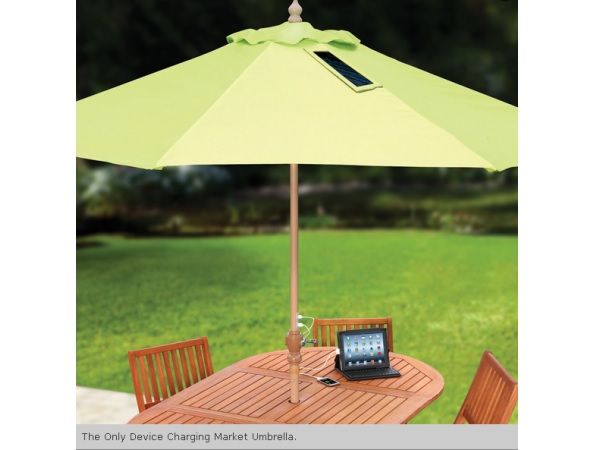 Hammacher Schlemmer umbrella