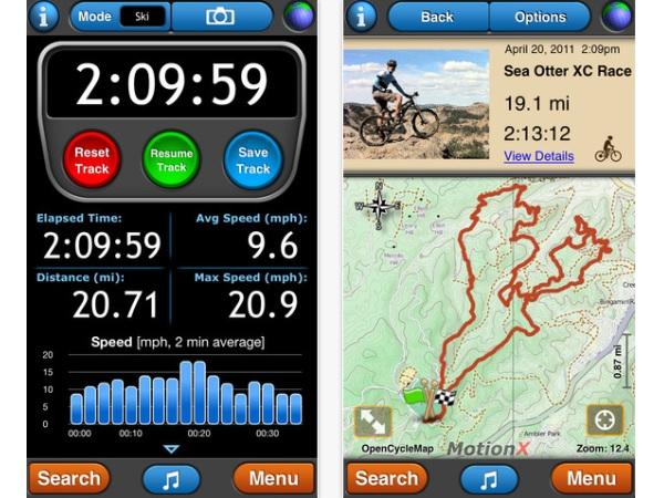 MotionX GPS
