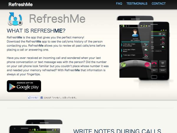 RefreshMe