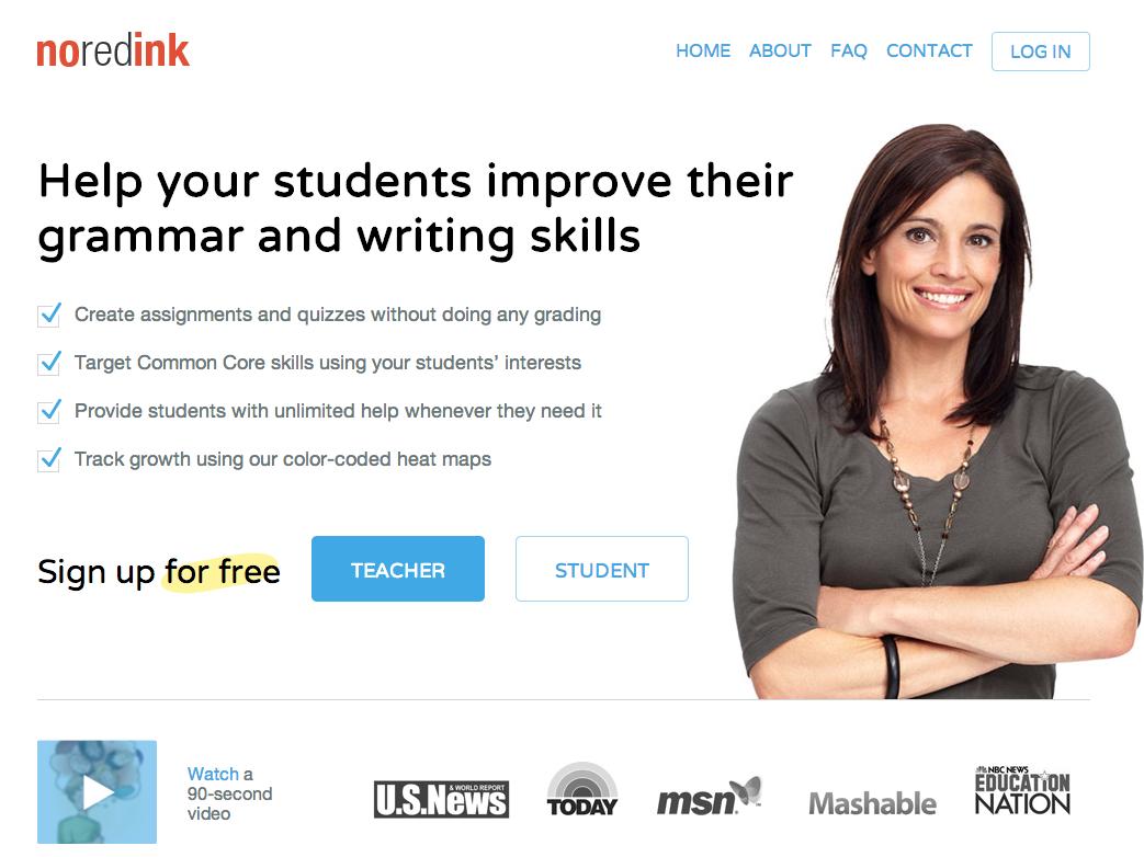 英語の文法を楽しく学べる「NoRedInk」、無料サービス継続へ200万ドル資金調達