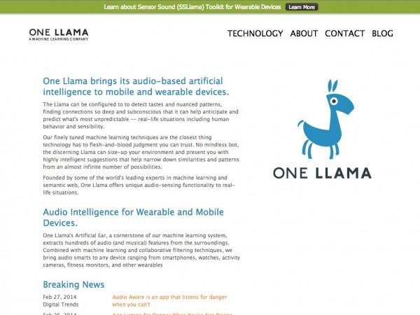 One Llama