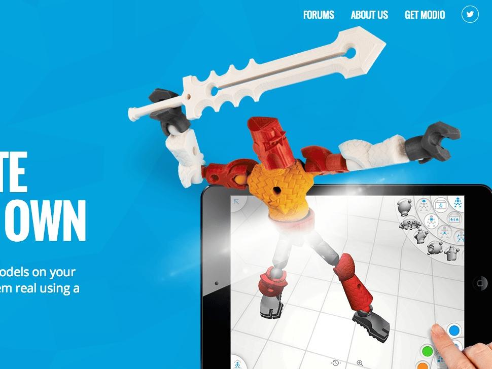 iPadでオリジナルのキャラクターをデザイン!簡単操作で3Dプリントも