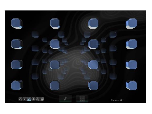 空中で手を動かして操作する、まったく新しい音楽作成&演奏アプリが登場