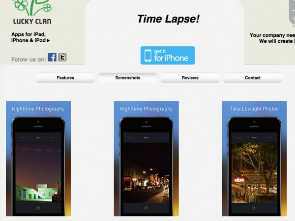 Time Lapse!