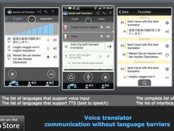Translate Speak