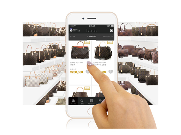 【Interview】月々6800円でブランドバッグ使い放題!アプリ『ラクサス』がスゴイ