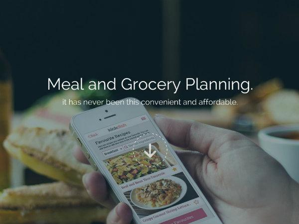 レシピ検索から食材調達までをワンストップで実現するスマホアプリKickDish