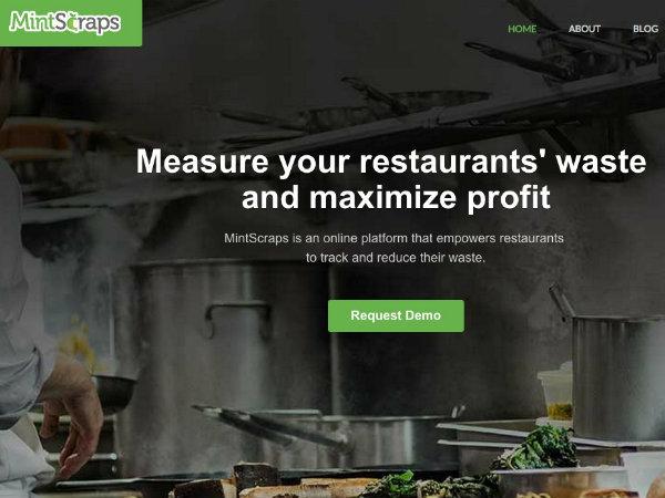 食料廃棄物モニタリングツール「MintScraps」