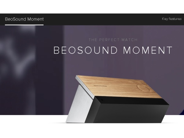 BeoSoundMoment