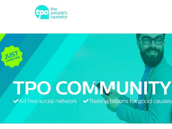 チャリティーに特化したソーシャルメディア「TPO」