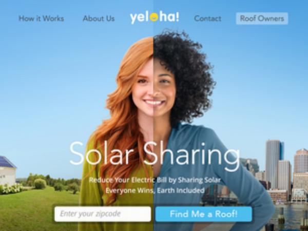 ソーラーパワーをシェアするプラットフォーム「Yeloha」 Yeloha Inc. © 2015