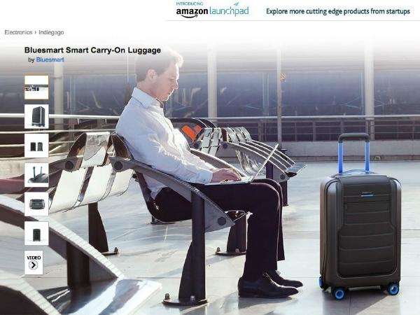 Amazon Launchpadで販売されているBluesmart