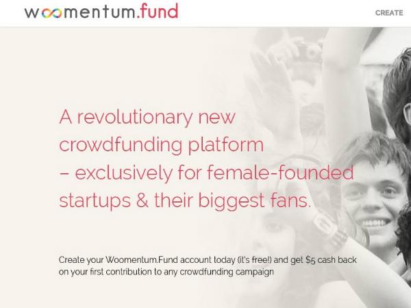 アジア初の女性起業家向けクラウドファンディングサービス「Woomentum Fund」