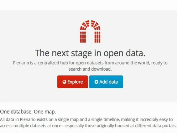 オープンデータを集約したプラットフォーム「Plenario」
