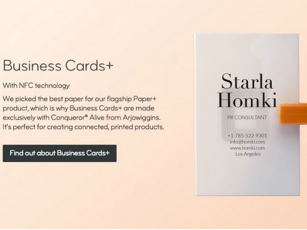 MOOの新名刺サービス「Business Card+」