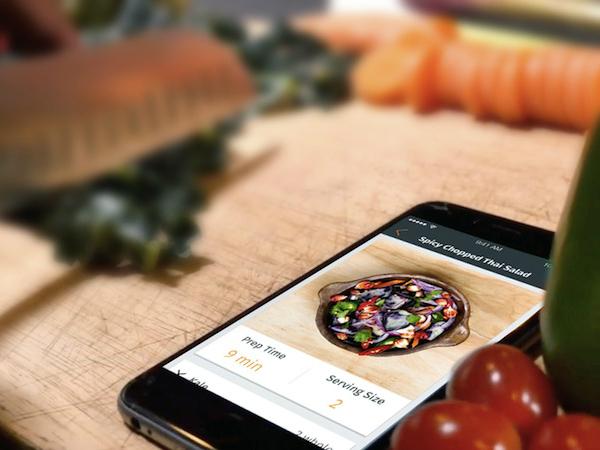 スマホアプリ「Foodfully」