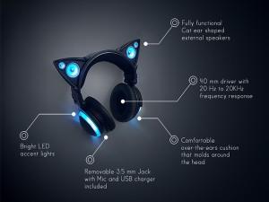 Axent Wear Cat Ear Headphones2