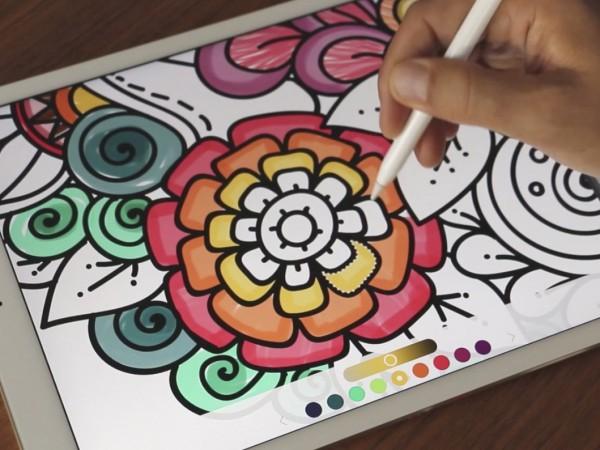 大人が夢中になれる無料の塗り絵アプリpigmentが大人気 Techable