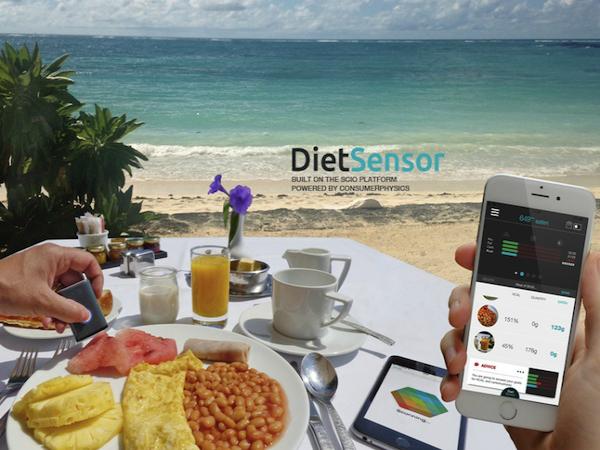 栄養成分を可視化する「DietSensor」
