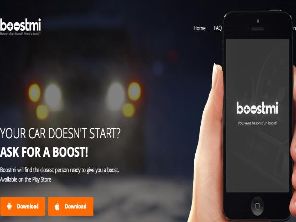 オンデマンド型救援サービス「Boostmi」
