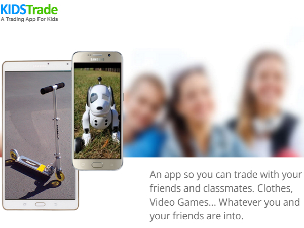子どものためのオンラインマーケットプレイス「KidsTrade」