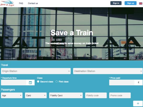 「Save a Train」のスクリーンショット