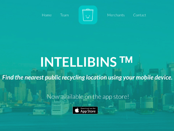 ニューヨークのリサイクル回収スポットを検索できるスマホアプリ「Intellibins」