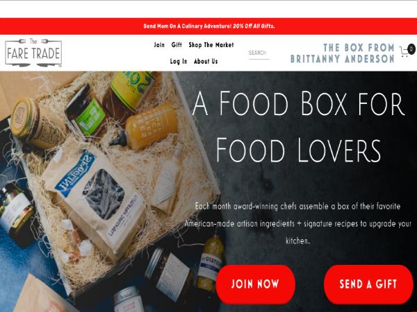 レシピと手づくり食品をセットで届ける定期購入サービス「The Fare Trade」