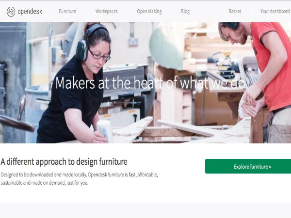 家具デザインのオープンソース化に取り組む「Opendesk」