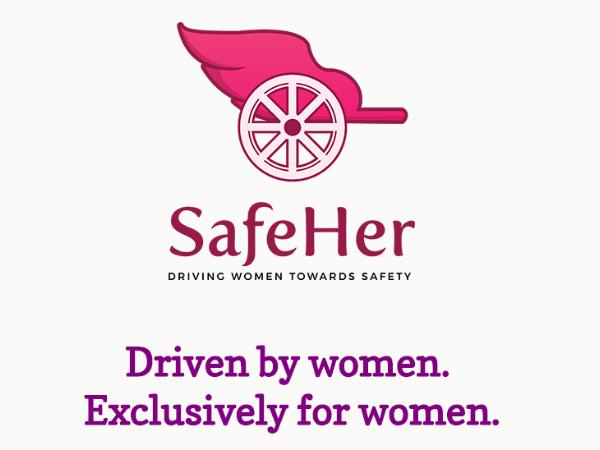 女性による女性のためのUber型サービス「SafeHer」