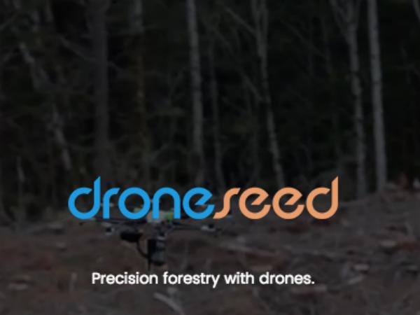 DroneSeedのトップページ