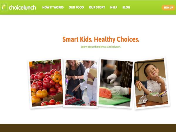 学校向け昼食デリバリーサービス「Choicelunch」
