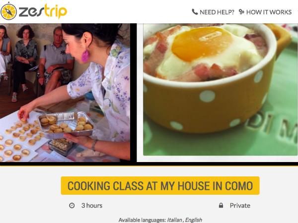 ZesTripで紹介されている料理教室