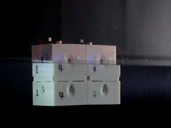 シェフィールド大学の研究グループが開発した水中探査用ロボット2