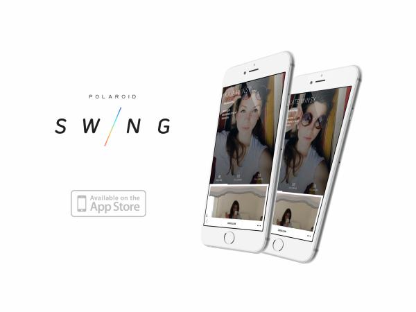 動く写真がクリアに撮影できる「Polaroid Swing」