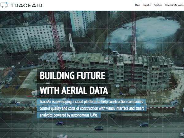ドローンを活用した建設マネジメントソリューション「TraceAir」
