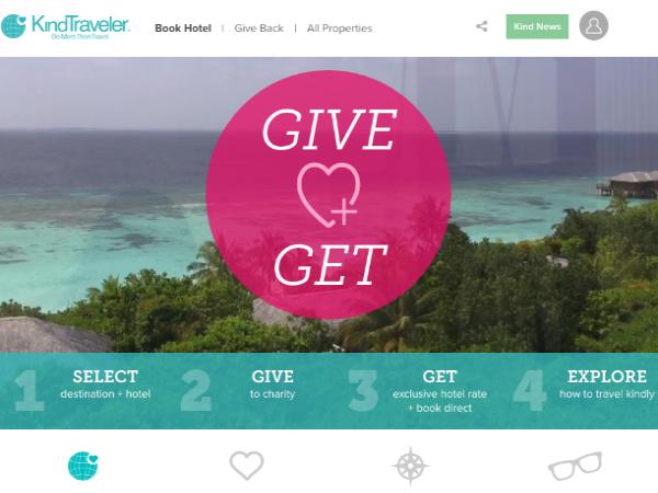 「Kind Traveler」ウェブサイト