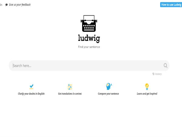 英文検索エンジン「Ludwig」