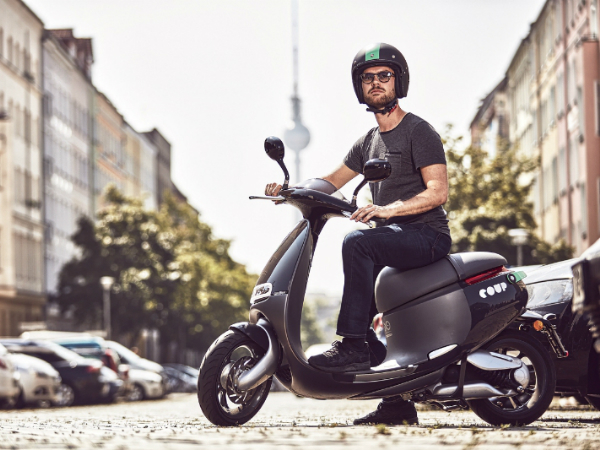 Smartscooterを活用したベルリンのシェアリングサービス