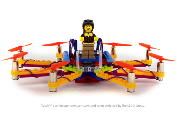 Flybrixのドローン完成イメージ