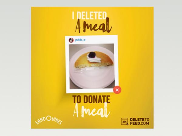 「Delete to Feed」で削除したフードフォト