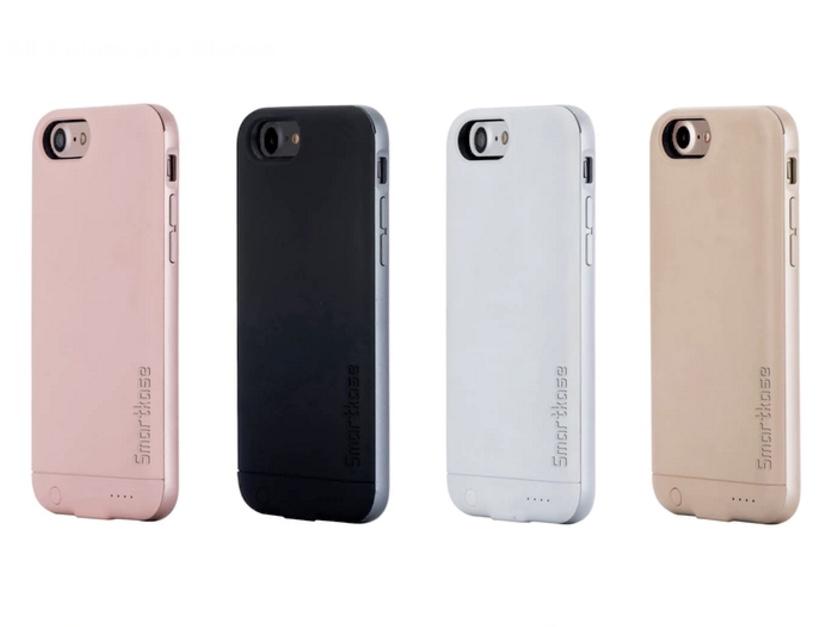 デュアルSIM対応のiPhoneケース「Smartkase」はバッテリーとメモリーカードスロットも搭載!