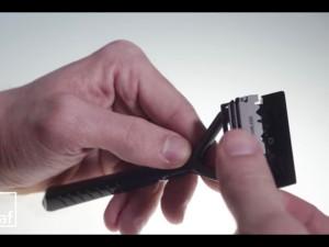 Leaf Razor刃交換の仕方