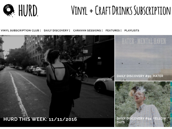 「Hurd」のウェブサイト