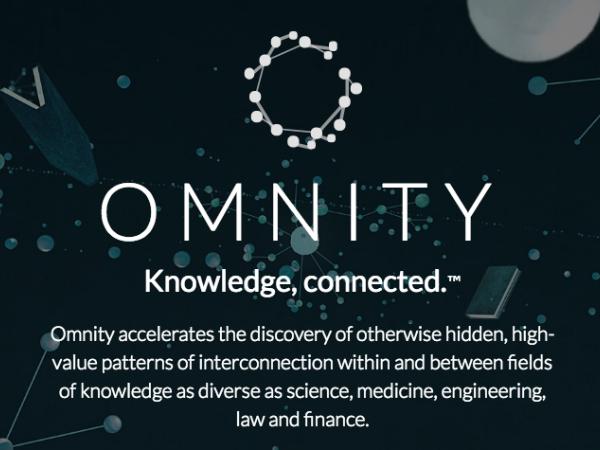 専門家向け検索エンジン「Ominity」