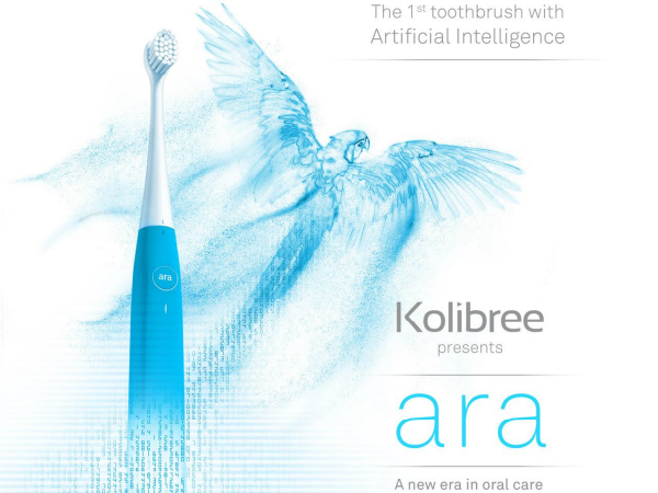 AI内蔵型スマート歯ブラシ「Ara」