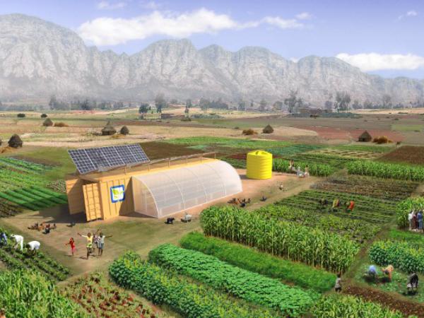 スマート農業ソリューション「Farm from a Box」