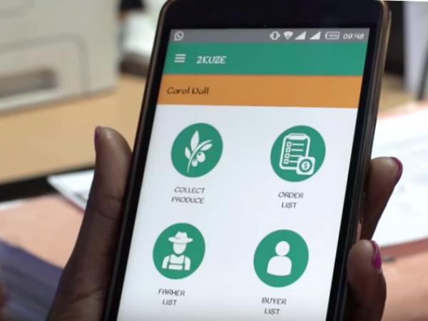 「2kuze」のモバイル画面